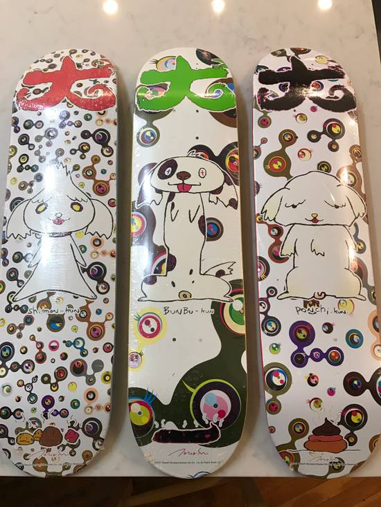 Supreme Takashi Murakami Skate Decks (Set Of 3) Size ONE SIZE