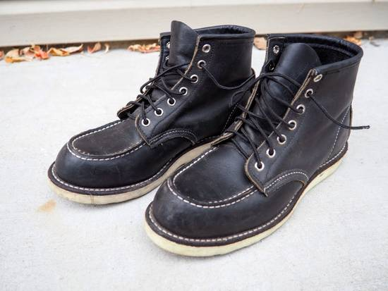 Red Wing FINAL PRICE DROP / Red Wing 9075 Classic Moc Toe Boot in Black Size US 8 / EU 41 - 9