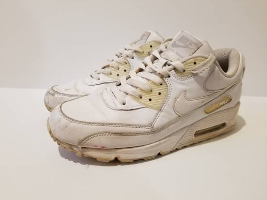 nike air max 90 leather white 42