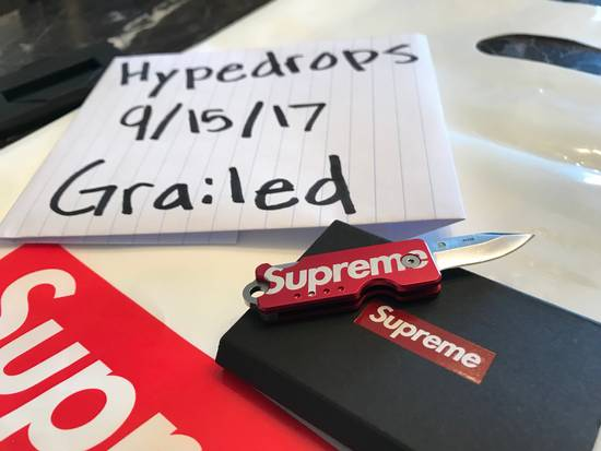 Supreme Supreme/Quiet Carry Knife Size ONE SIZE