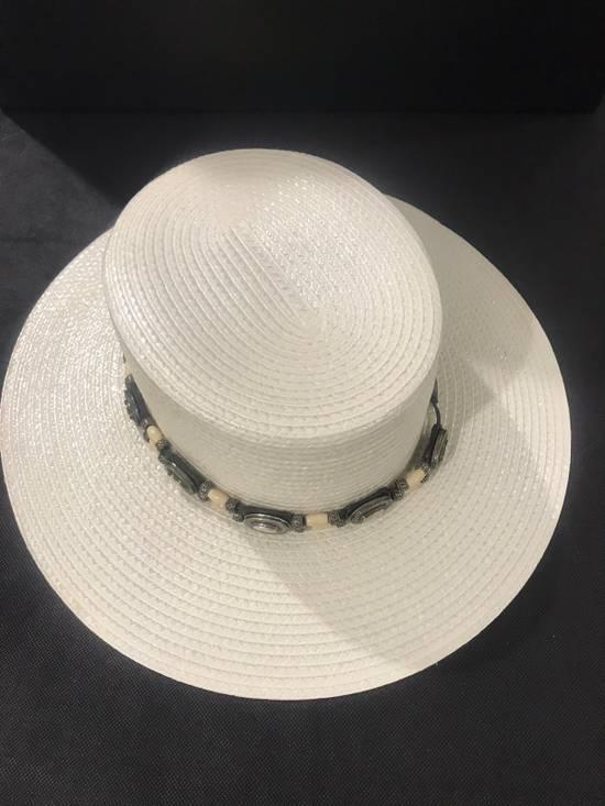 Saint Laurent Paris Saint Laurent men's western-style boater hat. 58/L. $2250 Size ONE SIZE - 11