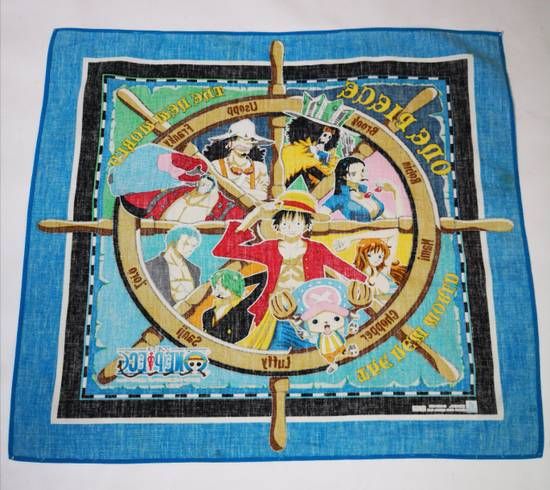 One Piece One Piece Made In Japan Handkerchief / Pocketsquare   Grailed