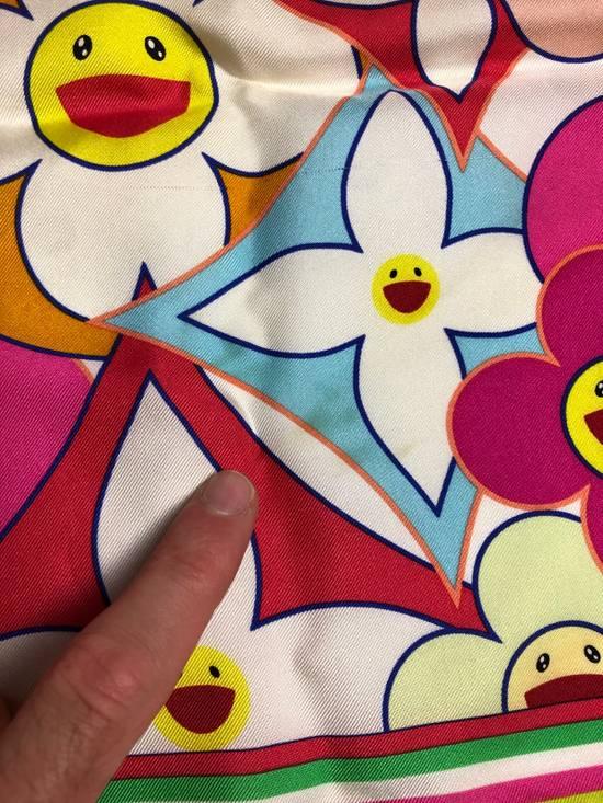 Louis Vuitton Louis Vuitton x Takashi Murakami scarf flower silk ITALY Size ONE SIZE - 4