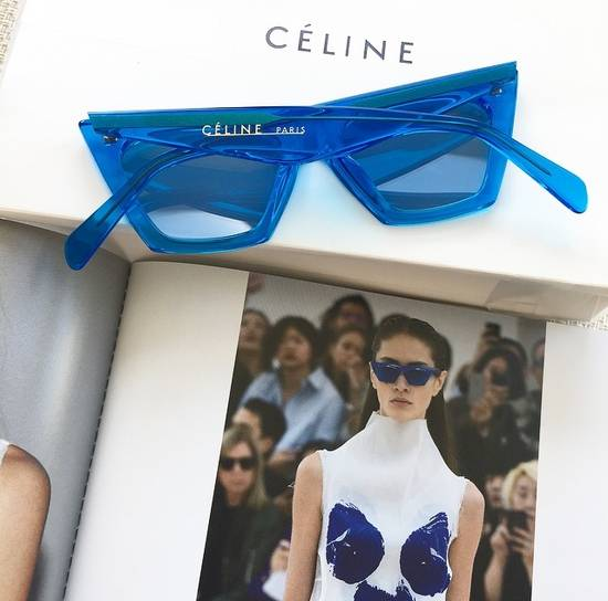 Celine Céline Edge Sunglasses Size ONE SIZE