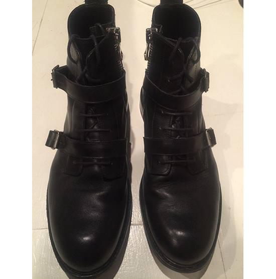 Balmain Buckled Crop Boot Size US 10 / EU 43 - 2