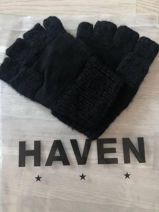 Haven Fingerless Gloves - Handknit Cashmere Size ONE SIZE - 1