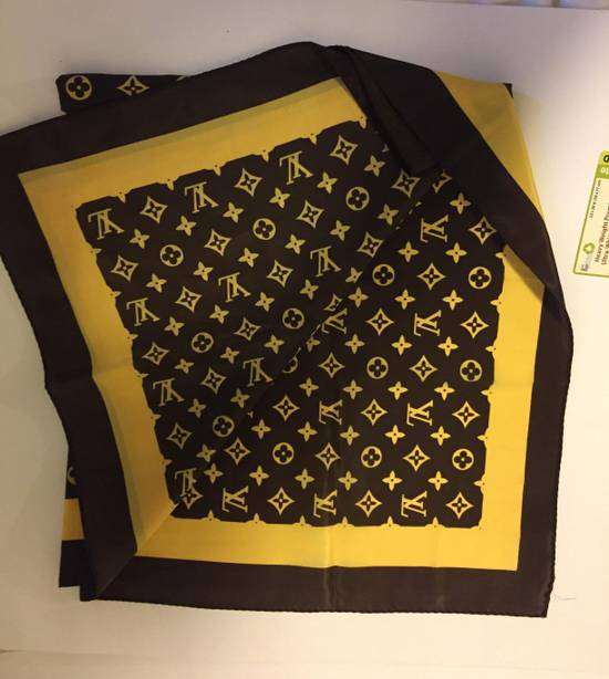 Louis Vuitton Louis Vuittion Monogram Silk Scarf/Bandana Size ONE SIZE - 1