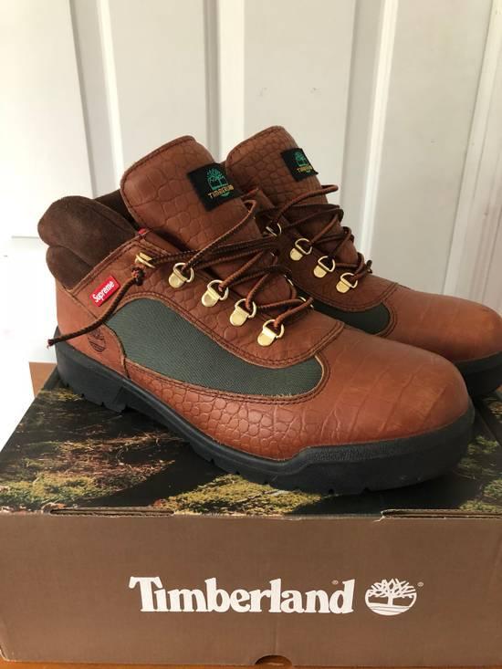 Supreme Supreme Timberland Field Boots Beef And Broccoli Size 12 Size US 12 / EU 45