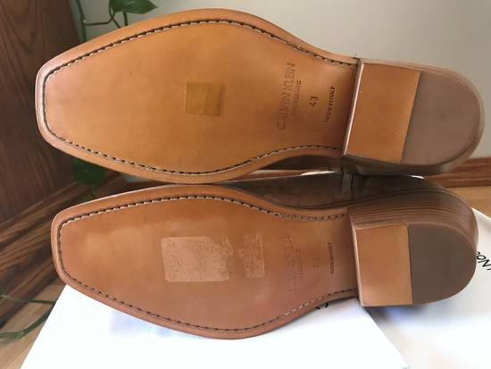 Raf Simons EU43 - Caramel Brown Calf Leather Suede Western Boots - SS18 Size US 10 / EU 43 - 7