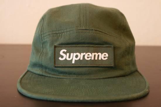 Supreme Supreme Olive Green Box Logo 5 Panel Hat Size ONE SIZE