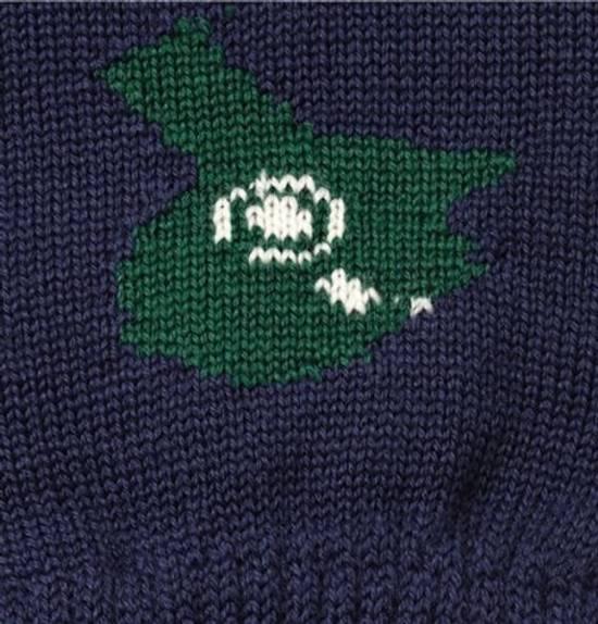 Raf Simons Merino wool jacquard glove Size 28 - 6