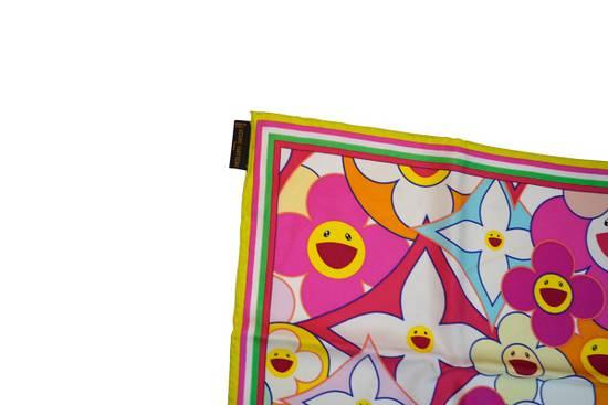 Louis Vuitton Louis Vuitton x Takashi Murakami scarf flower silk ITALY Size ONE SIZE - 2