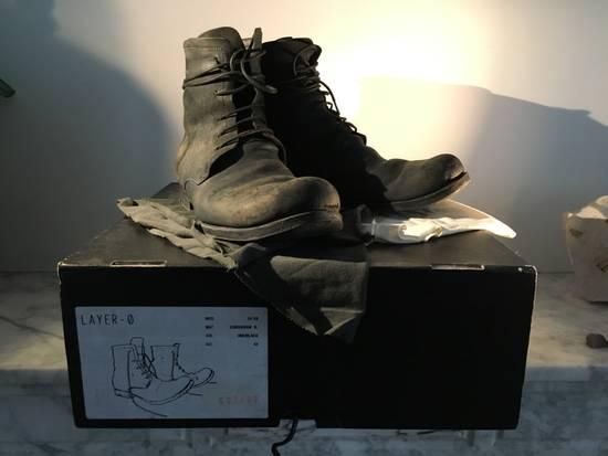 Layer-0 Reverse Cordovan 5-Hole Boots Size US 9 / EU 42
