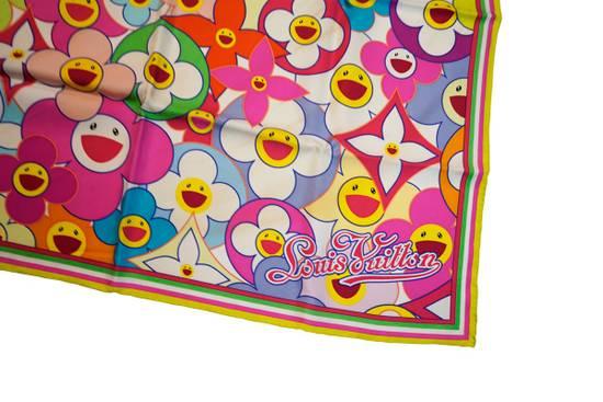 Louis Vuitton Louis Vuitton x Takashi Murakami scarf flower silk ITALY Size ONE SIZE - 1