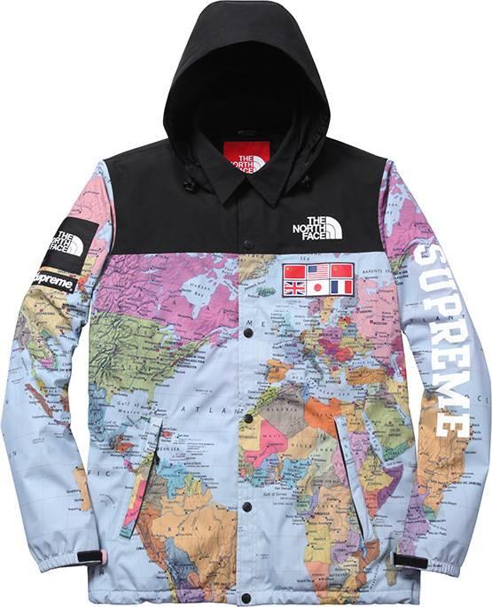 Supreme supreme x the north face worldwide map jacket size s supreme supreme x the north face worldwide map jacket size us s eu 44 gumiabroncs Choice Image