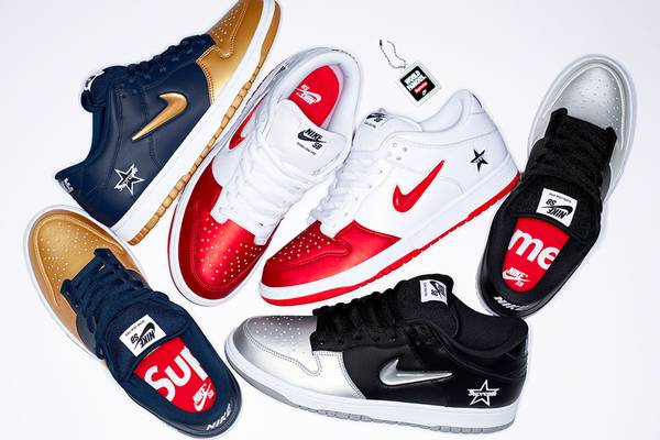 Supreme Officially Announces Nike SB Dunk Low Collaboration