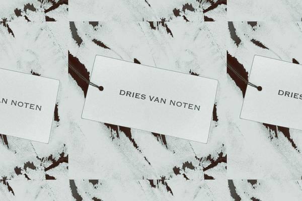 Featured: Dries Van Noten Printed Velvet Pants