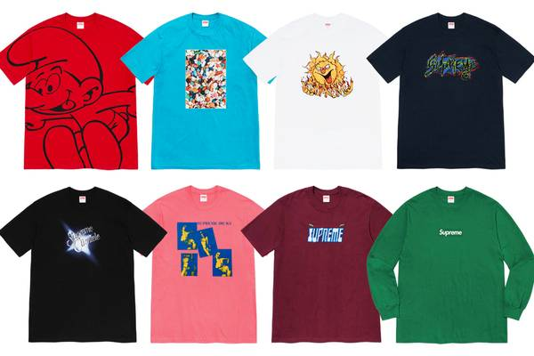 Beware the Box Logo: Supreme Showcases New Fall Tee Collection