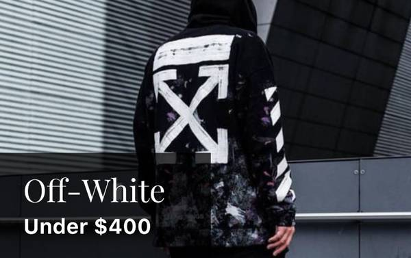 Abloh's Canvas: Off-White Hoodies Under $400
