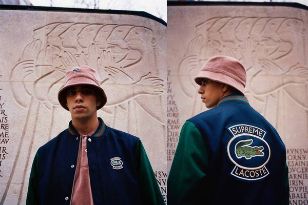 Supreme and Lacoste Suit up Again for Spring