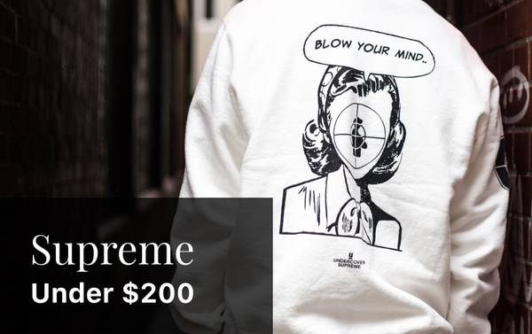 Beyond Box Logos: Supreme Crewnecks Under $200
