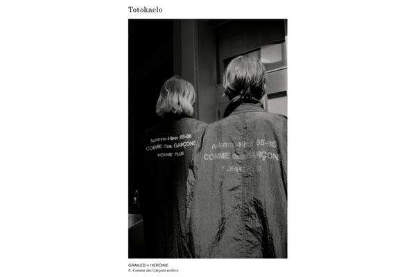 Totokaelo x Grailed x Heroine Featuring Comme des Garçons Archive
