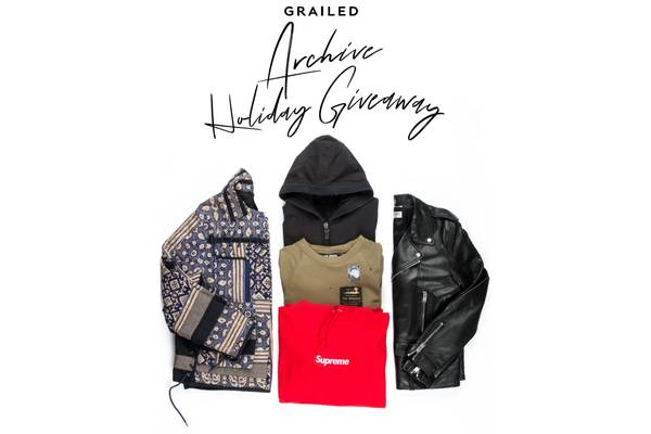 Grailed Archive Holiday Giveaway (Winners Announced!)