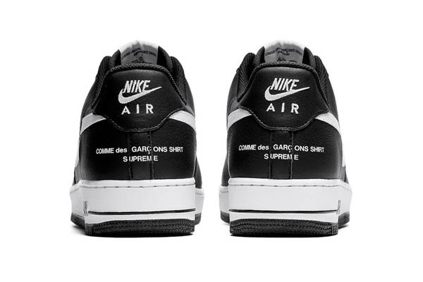 """Split Swoosh"": Supreme x Comme des Garçons SHIRT x Nike Air Force 1 Drops This Week"