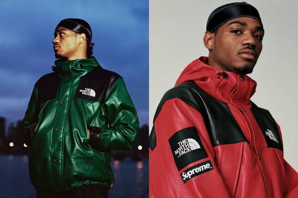 Back, But in Leather: Supreme Unveils This Season's The North Face Collaboration