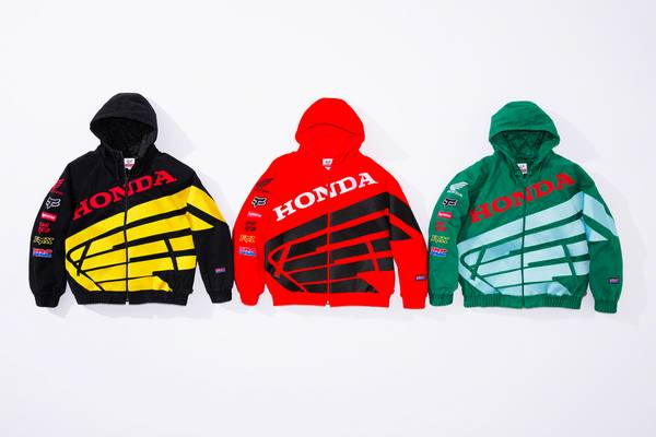 The Supreme Dirtbike Arrives: Supreme x Fox Racing x Honda