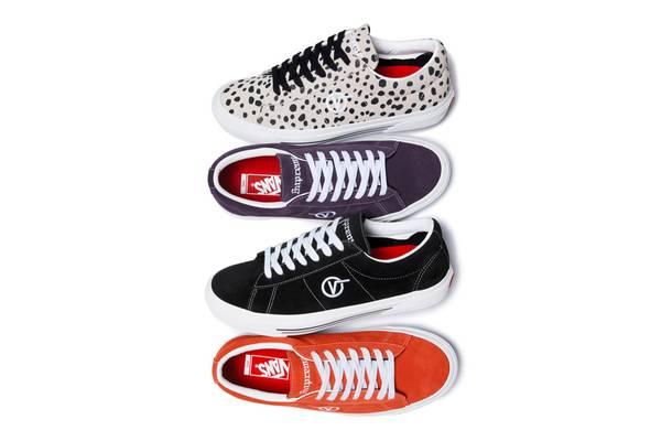 Supreme Unveils Subtle Rework of Vans' Sid Pro Sneaker