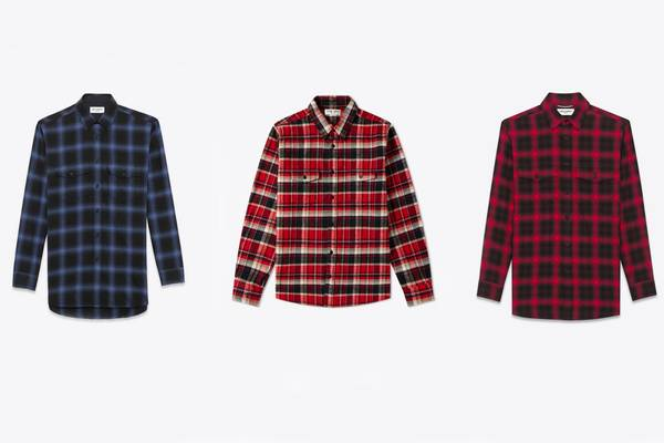 Bang for Your Buck: Saint Laurent Flannel Shirts