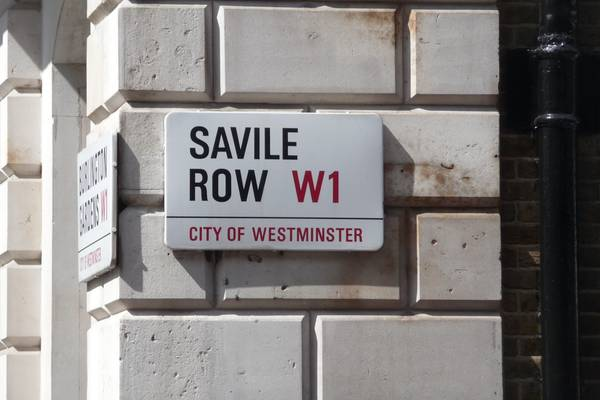 The Big Shots of Savile Row