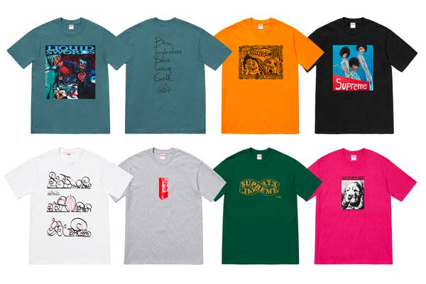 Tee'd Up: Supreme Announces GZA and Tabboo! Collaborations