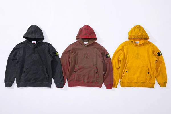 Supreme Announces Stone Island Collaboration Collection