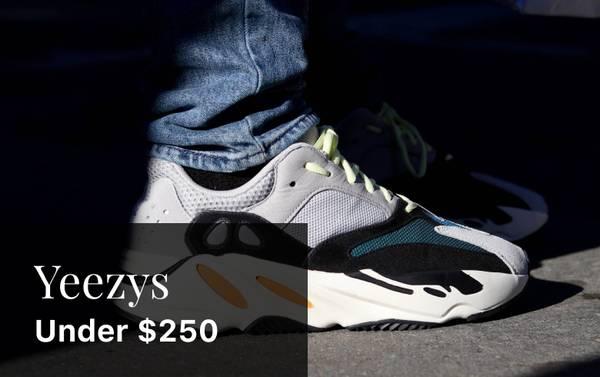 Kanye's Kicks: Yeezy Sneakers Under $250