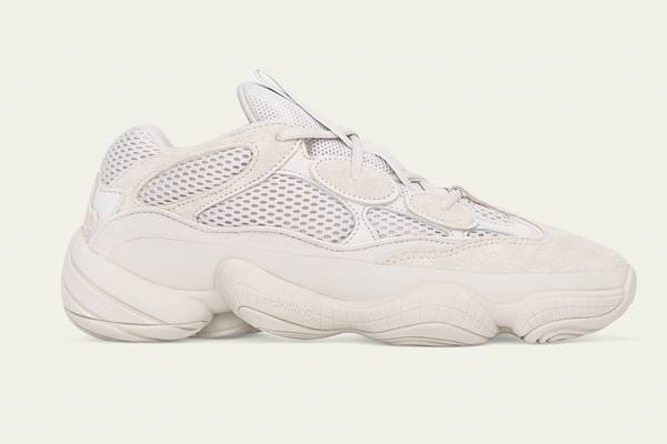 "Just In: Yeezy Desert Rat 500 ""Blush"""