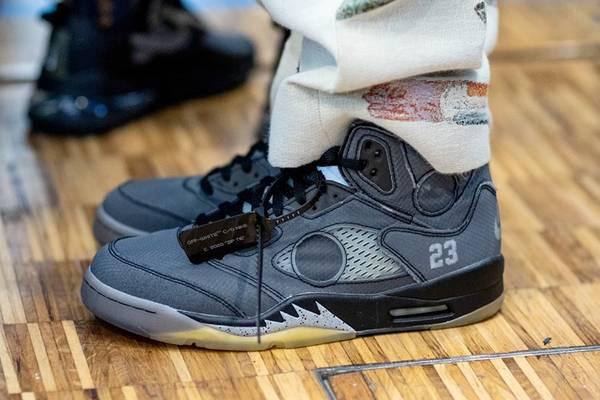 Virgil Abloh Teases new Off-White x Jordan Brand Sneaker