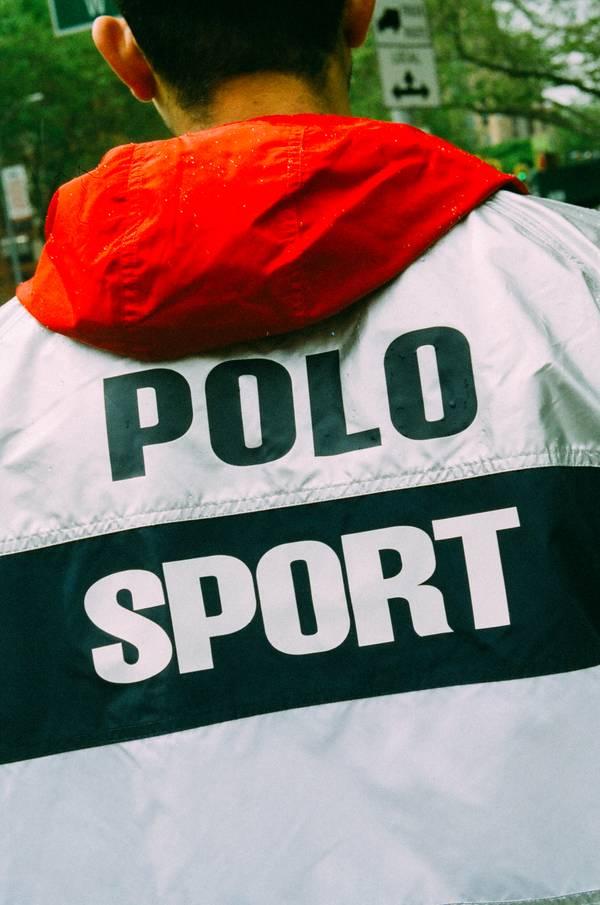 Grailed x Polo Sport Windbreaker Look
