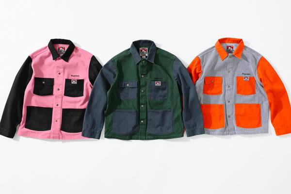 Supreme Announces Ben Davis Collaboration