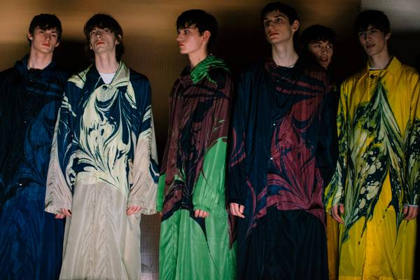 A King Holds Court: On Location at Dries Van Noten Fall/Winter 2018