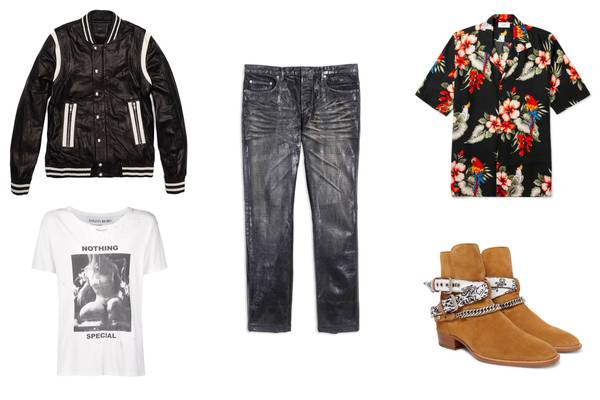 More Than Saint Laurent Paris: Upgrade Your Rock-Influenced Menswear