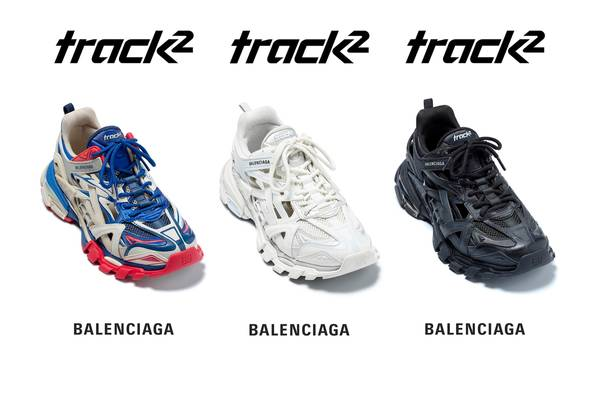 Balenciaga Debuts the All-New Track.2 Sneaker