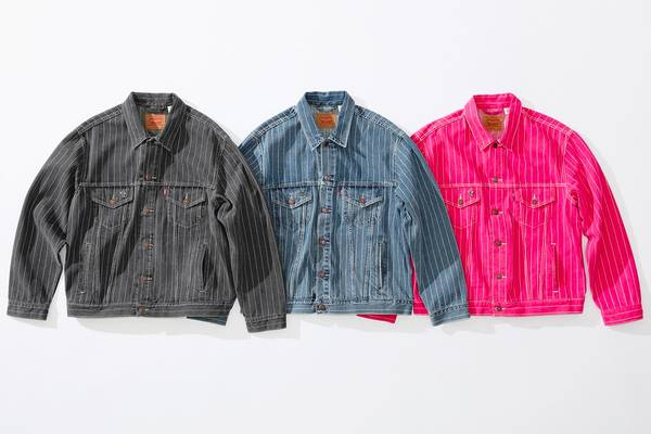 Supreme and Levi's Are Back At It For Spring/Summer 2018