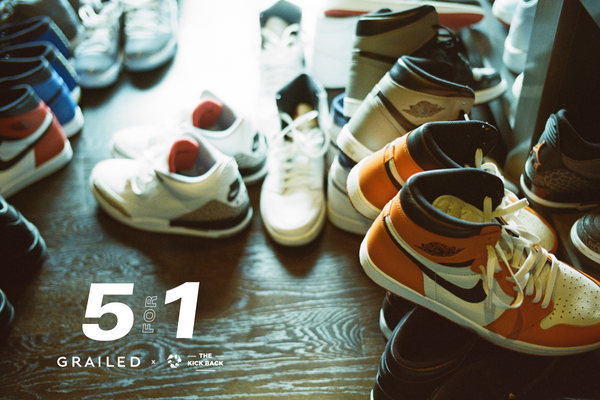 Grailed x The Kickback Present: The 5 for 1 Project