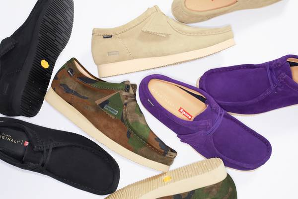 Supreme Collaborates With Clarks on a Gore-Tex Wallabee