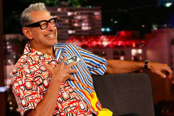 Inspired: Jeff Goldblum