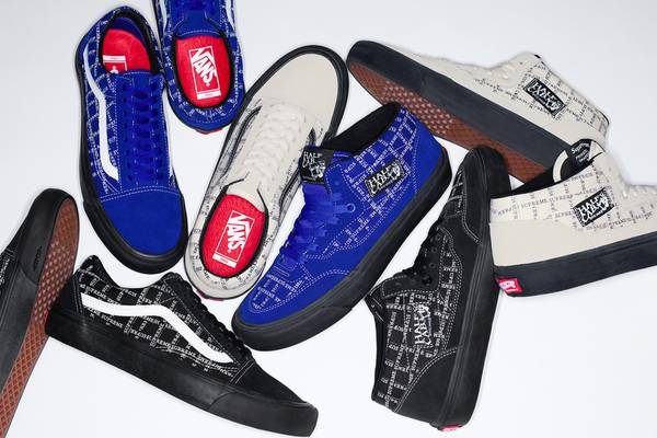 Supreme Flips the Vans Half Cab and Old Skool for Fall/Winter 2020 Collaboration