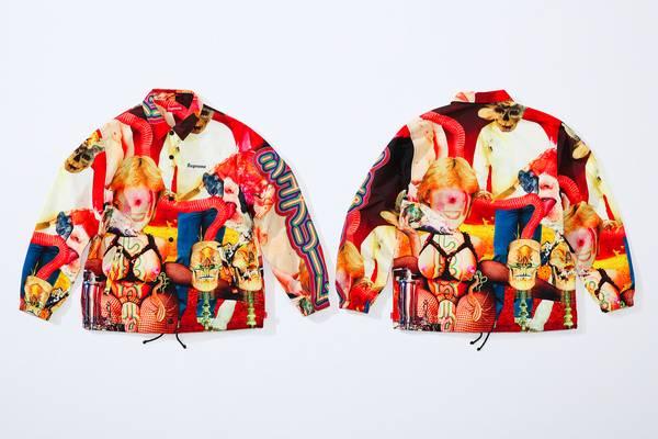 Supreme Launches Grotesque Artist Collab With Sekintani La Norihiro