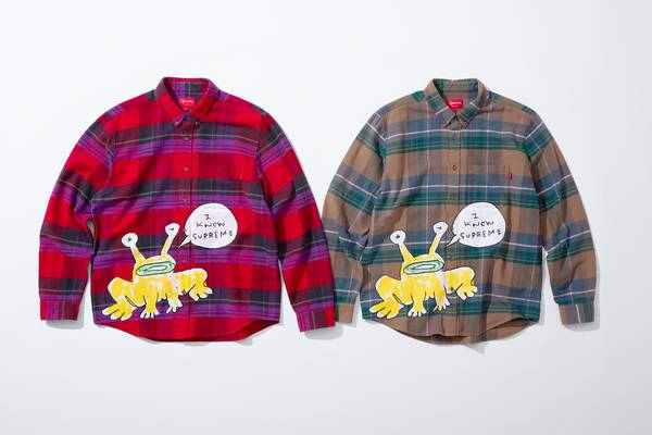 Daniel Johnston's Latest Supreme Drop Lands May 14
